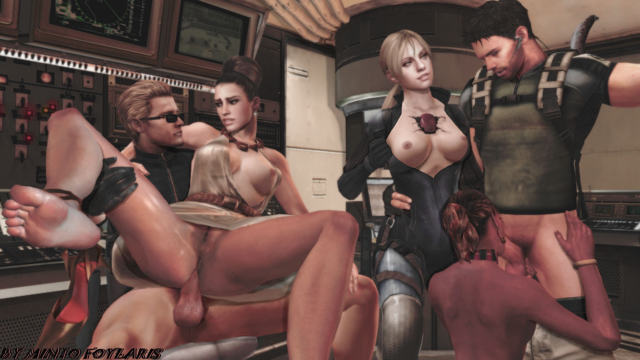 Suggest you Resident Evil 5 nude jill fucking sheva remarkable