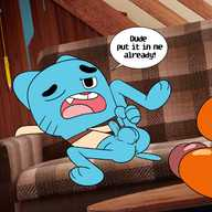 gay amazing world of gumball porn