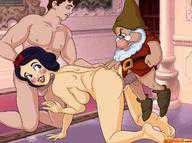Think, Snow white and the seven dwarves porno have