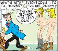 Nude blondie and dagwood